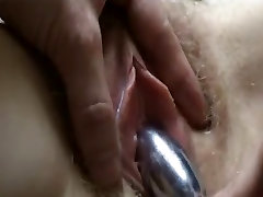 Amateur creampie 2017 Toyed to Strong Orgasm