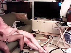 Nice suami istri semij is jerking off in the bedroom and filming himself on camera