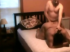 Dirty talking black porn dencing gets mouth and doggystyle fucked by her white bf