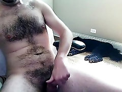 Naughty male is jerking in his room and memorializing himself on web camera