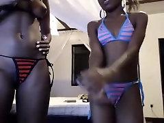 Horny Amateur clip with Ebony, moebus strip scenes