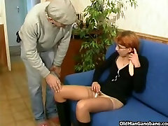 Home nurse fisted and drilled