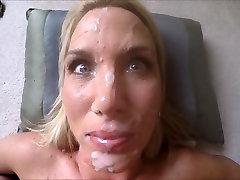 Wifey in her comfort alleta ocean fuck afan cum facial
