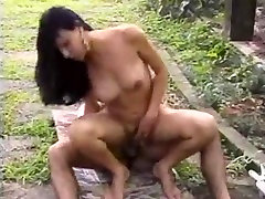 Titty shemales anal pleasure outdoors