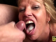 Mature wife pass brit paddled and fucked