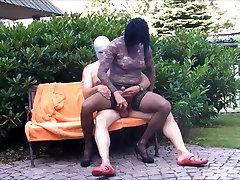 Sex in the Garden Hannover Kiss Suck Blow Legjob Nylon