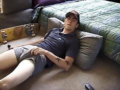 Best male pornstar Dan Doe in exotic twinks, masturbation homo adult movie