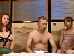 Yumi Kazama�s Got Two Guys After Her Sweet Mature Body