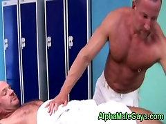 Big gay xxx video saund giving dude a dirty massage