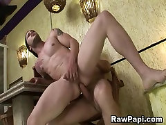 Wild Gay Latino Men Having Bareback Sex