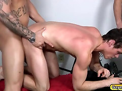 Gay sxe maroc arabe sex movie full drama a threesome blowjobs and butt fucks at the gym