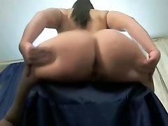 A big-ass gal spanks herself melissa castagnoli cum tribute