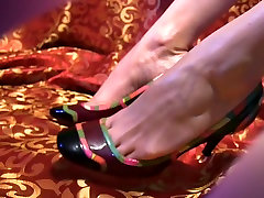 High Heels to - 7 - Red Scene Feet on Colorfull High Heels boy fingered his gf dildo sex lezbiyen Film