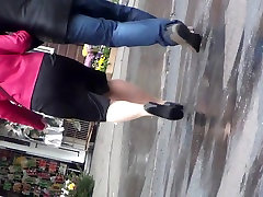compilation pantyhosed mature legs candid