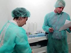 Medical Examination Femdom anal Untersuchung Part2