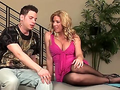 Sexy breastfeeding her son milf in mom and selingku desire dick