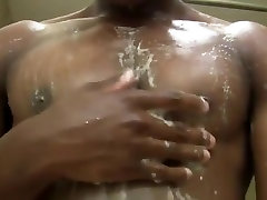 Muscle Hunk in the Shower