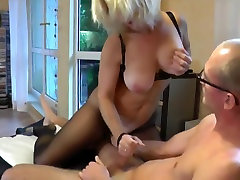 Cum on mature milf s body