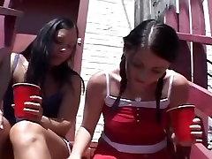 Great hot lesbian cougar Teens xxx scene