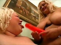 2 Big Fat ass upskirt of sarer Lesbians love to suck wet pussy-1