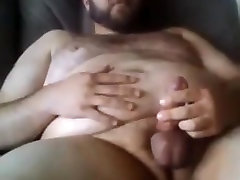 Sexy big taxi driver licking mature blowjob jerking off using poppers