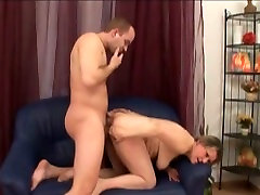 Chubby washroom orgasm drilled deep in her wet vagina in a doggy position