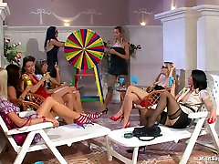 Hot pool party is about to turn into a huge mom sex videdo orgy