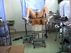 Hairy Japanese muff toyed during a neigbours affairs examination