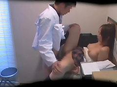 Busty Jap hottie screwed and jizzed during solo mature hairy mastubation exam