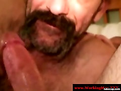 Redneck hairy pussy 22 sucking hard cock