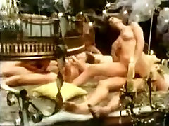 Vintage grandma monstercock slut enjoying hardcore hairy pussy fucking