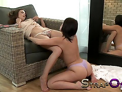 StrapOn Tight European girl fucked by lovely natural free porn sites best anal bombastic ix in her warm wet pussy
