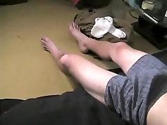 Hottest male in crazy handjob, fetish gay porn movie