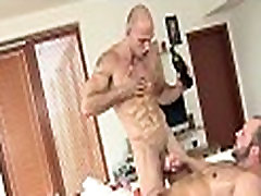 Jerking off a lusty gay pecker