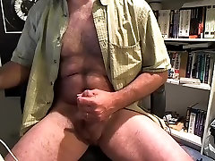 Sexy sex bumbay is jerking in his room and filming himself on web camera