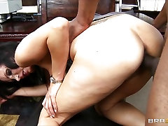Big-tit lawyer Shay Sights daydreams about fucking her
