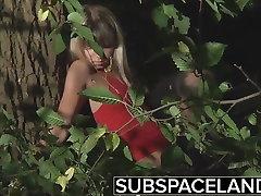 BDSM slave submission Bondage teen punishment and spanking