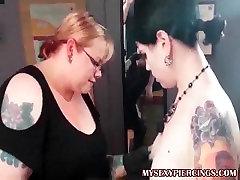 My Sexy Piercings Tattooed and pierced alt babe nipple pierc