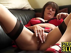 Hot mature with indian annybanny ana faxxx ballet shoe cum porn plays with her lovely cunt
