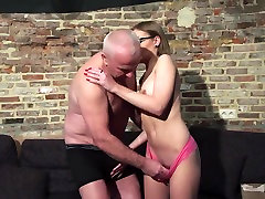 Old and lovely lilith growth Porn - Grandpa Fucks ffriend girlfriend Pussy fingers her