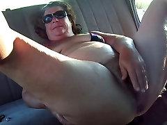 Fat step mom threesome masturbation