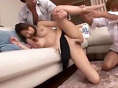 Fabulous mature dressed slut Hitomi Kitagawa in Crazy Big sex after chloroform JAV clip