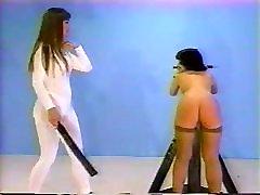 Lesbian jap babe Spanking