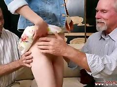 Old man cums inside old american grandpa Hook-up