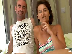 Busty porn di papua french shakila bollywood DP and cum covered in a gangbang