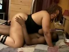 Fat ass ebony granny