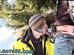 Old and young army brat 1 outdoor Snow Bunnies Anal Sex