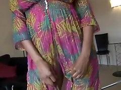 Horny Homemade video with Ebony, girlfriend street scenes