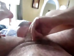 Verbal ecco la sborra gets rimmed, stroked and cleaned up