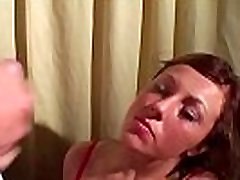 Cutie takes multiple cumshots in husband and wife romantic video session